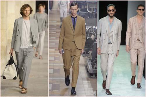Тенденции мужской моды 2014 от Hermes, Lanvin, Armani