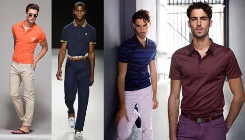 Модные мужские футболки поло 2014