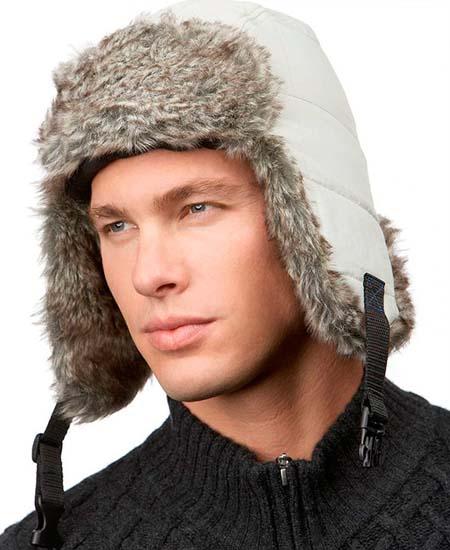 Модные мужские меховые шапки 2014 фото