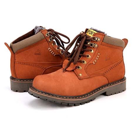 Модная зимняя мужская обувь 2014
