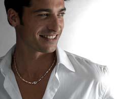 Модные мужские серебряные цепочки