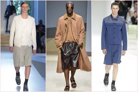 Модные шорты 2014 фото