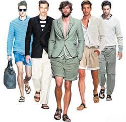модные  мужские сандалии