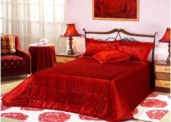красный комплект постельного белья для мужчин