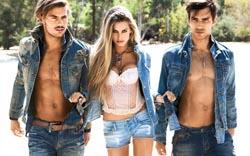 Модные мужские джинсы 2014 фото