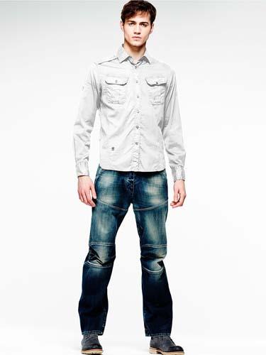 Стильные мужские джинсы 2014 фото