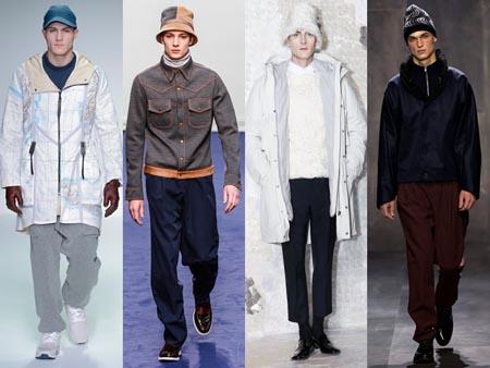 Модные мужские зимние шапки 2015 фото