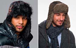 Мужские зимние шапки 2015