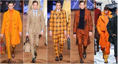 Акценты мужской моды сезона осень-зима 2014-2015
