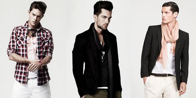 модная одежда для худых мужчин