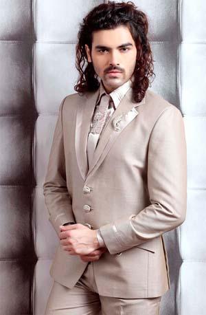 белый мужской костюм 2014 фото