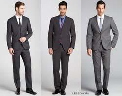 Модные мужские костюмы 2014
