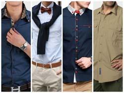 Модные мужские рубашки 2015 фото