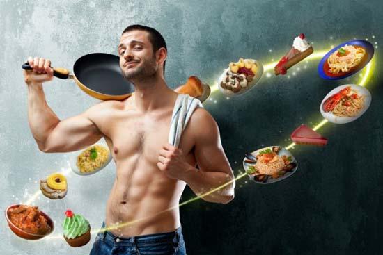 Как похудеть мужчине дома