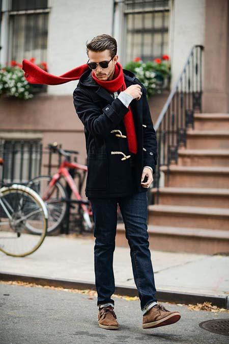 Модное мужское пальто 2017 дафлкот фото