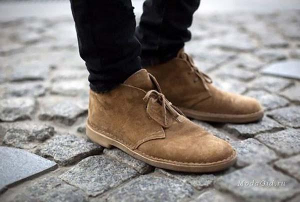 Стильная мужская обувь дезерты 2017 фото