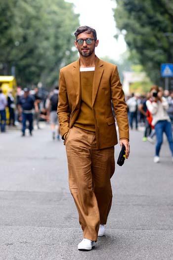 Модные мужские широки брюки 2017 фото