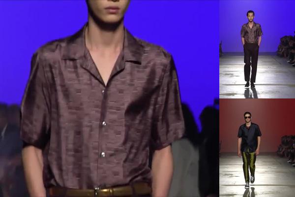 стильная рубашка с коротким рукавом 2017 черная
