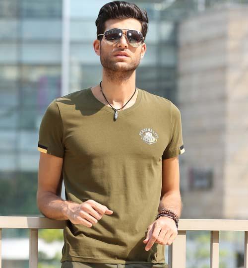 мужская футболка милитари фото