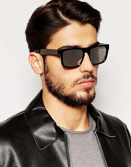 прямоугольные мужские солнцезащитные очки 2017 фото