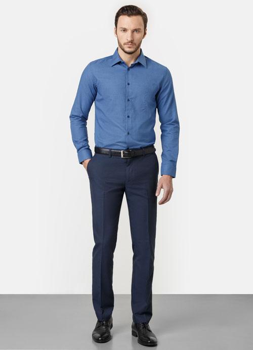 синие мужские брюки 2017 ostin