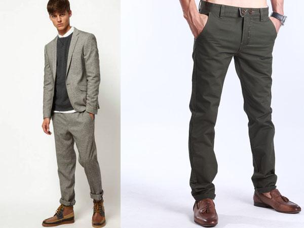 фото стильные мужские брюки