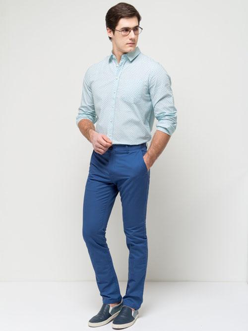 модные синие брюки 2017 села