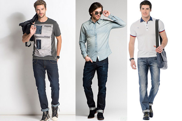 модные мужские джинсы 2017 с подворотами