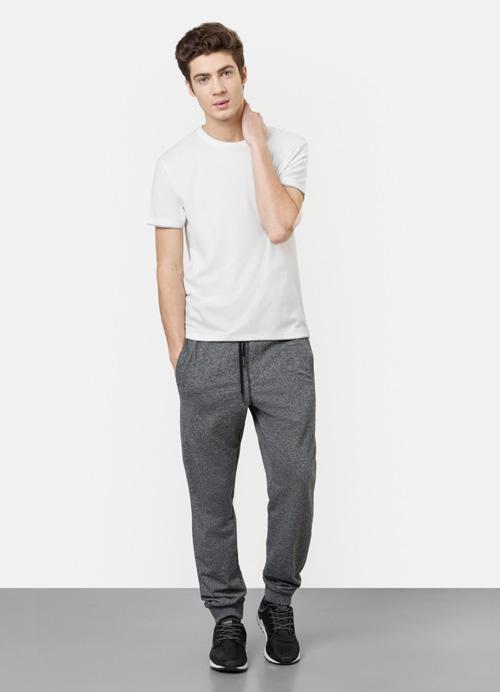 модные мужские серые джоггеры 2017 Ostin фото