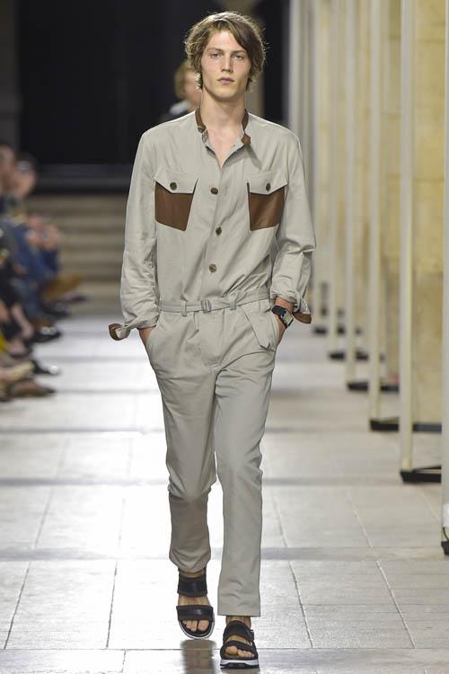 серые брюки 2017 Hermes мужские