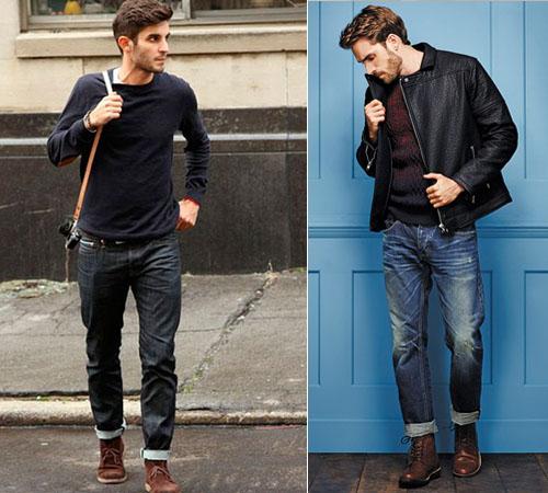 Модные цвета мужских джинсов 2017 года