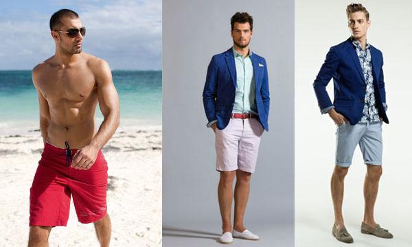 Модные мужские летние шорты 2017