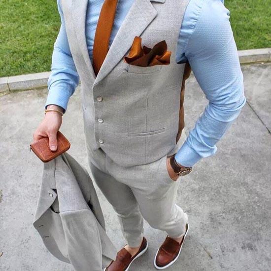 голубая мужская рубашка 2017 фото