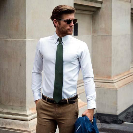 Мужские рубашки с длинным рукавом 2017