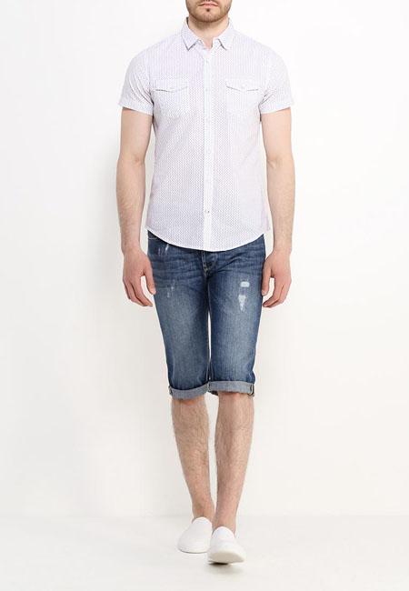 мужские джинсовые бриджи 2017 oodji