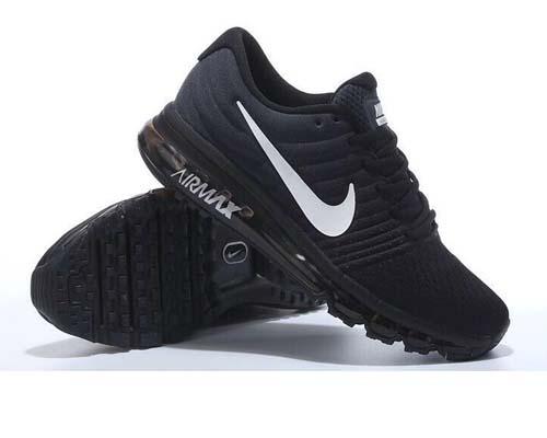 черные мужские кроссовки Nike Air Max 2017 фото