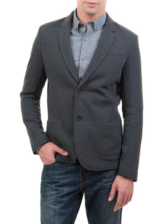 классический серый мужской пиджак 2017 фото