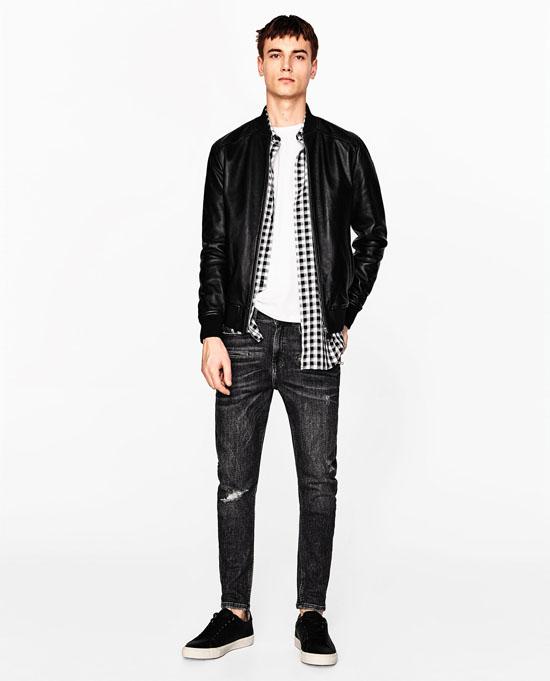 модные мужские кожаные куртки 2017 фото