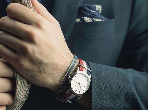мужские часы с ремешком нато фото