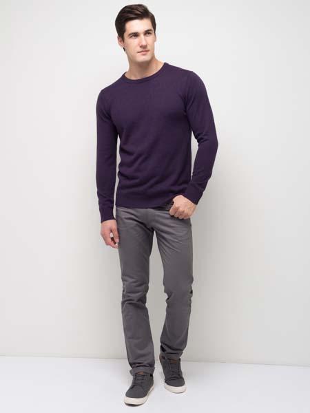 фиолетовый мужской джемпер фото