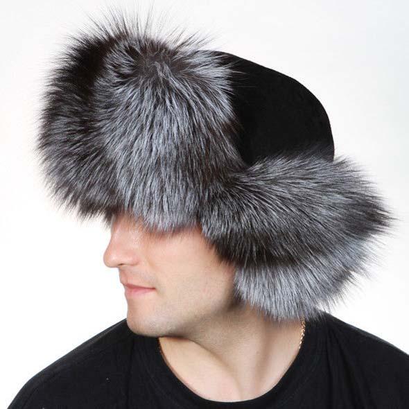 мужская меховая шапка 2018 фото