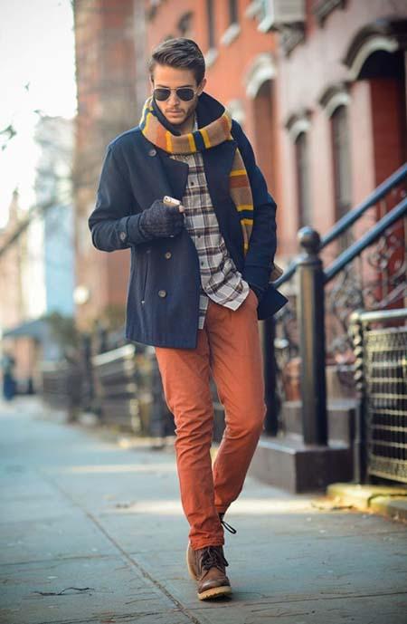 тенденции мужской моды осень-зима 2017-2018