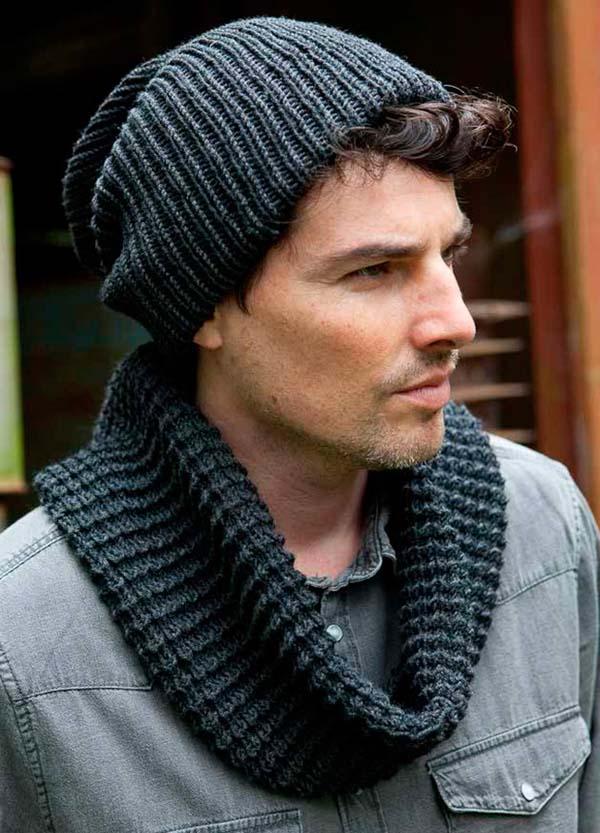 мужская шапка-капюшон