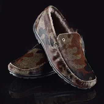 утепленные туфли мужские милитари