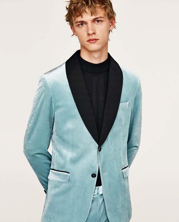 мужской бархатный пиджак фото