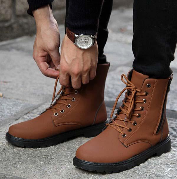 мужские ботинки осень-зима 2017-2018 фото