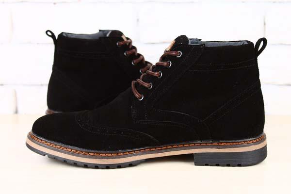 черные замшевые мужские ботинки фото
