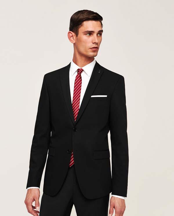 черный мужской пиджак 2018 фото