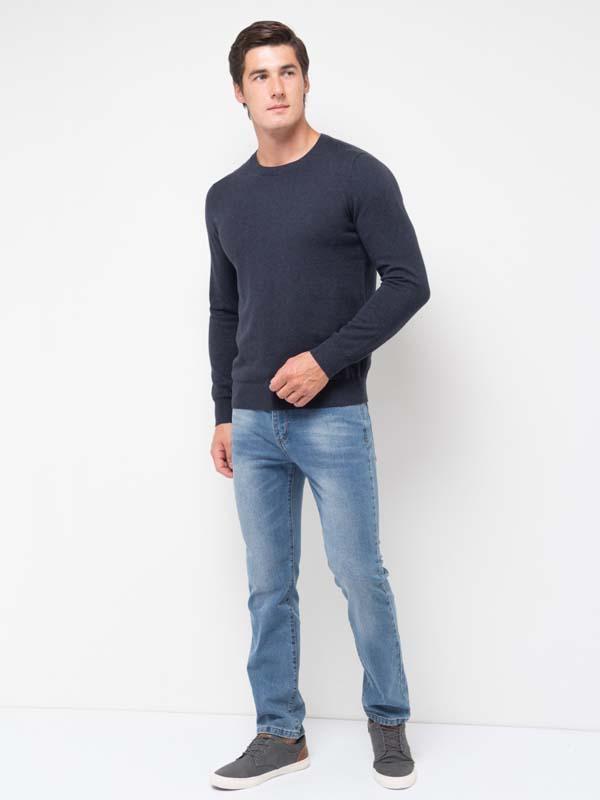 светло-синие мужские осенние джинсы фото