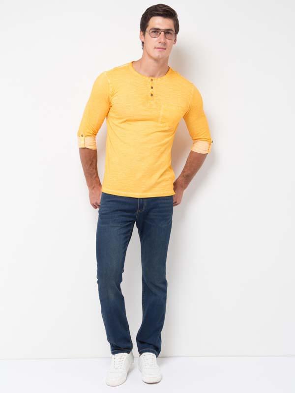 темно-синие мужские джинсы фото